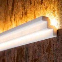 Zierleisten für indirekte Beleuchtung