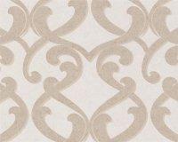 Vliestapete Atrium Damask Muster Barock Design beige