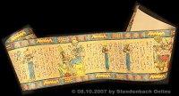 Bordüre Ägypten kräftiges Material