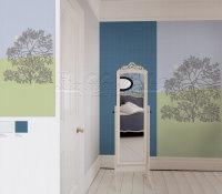 Marimekko Mural Panel Puu Kuutamossa 140cm x 300cm
