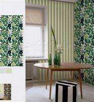 Marimekko Mural Panel Green Green 140cm x 300cm