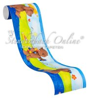Bordüre selbstklebend Kinderzimmer Tiermotiv...