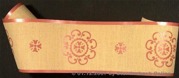 Tapetenborten floral Retro tolles Design