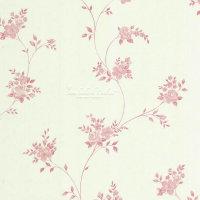 Landhaus Vliestapeten Rosen Ranken weiß rose
