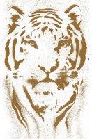 Selbstklebende pop.up Panel 2,5 x 0,35 Meter Design Tiger...
