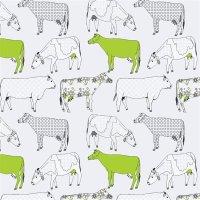 Kitchen Style Tapete Kühe
