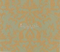 Sirpi Gold Satin Tapeten Italian Style Barock