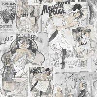 Nostalgie Tapeten Moulin Rouge