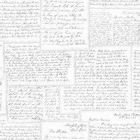 Nostalgie Tapeten Vintage Briefe