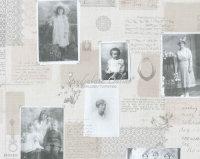 Vliestapeten Memories Postkarte Foto Galerie
