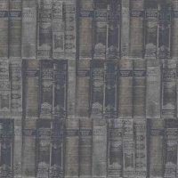 Nostalgie Tapeten Bibliothek