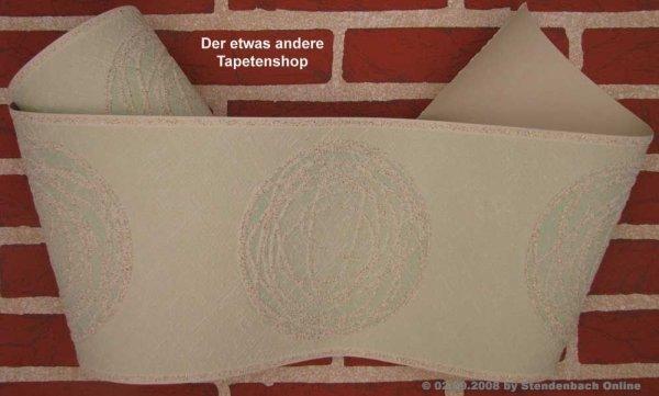 Tapetenborten Borte grafisch mit Granulat