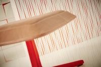 Aisslinger - Vlies farbig  -  Grafik Modern Streifen