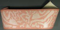 Borte grafisches Design orange 10 Meter