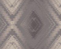 Calico Vliestapeten grafisch Rauten Design Decoprint