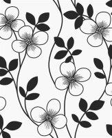 Elements Vliestapeten Blumen Ranken Fine Decor