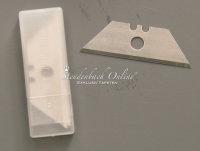 10 Ersatzklingen für Glasschaber Kunststoff 60 mm