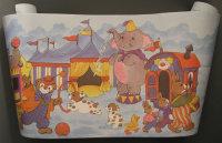 Kinderzimmer Bordüre, Hasen, Zirkus Elefant