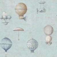 Nostalgie Tapeten Heißluftballons