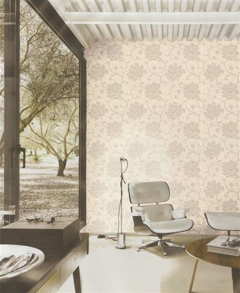 villa italienische duplex tapeten blumen design. Black Bedroom Furniture Sets. Home Design Ideas
