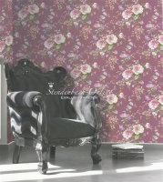 Aromas Vliestapeten Landhausstil Blumen Ranken