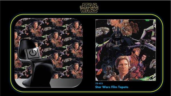 star wars film tapete. Black Bedroom Furniture Sets. Home Design Ideas