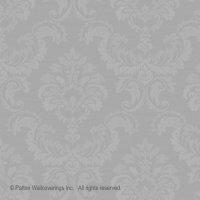 Simply Silks Tapete Barock silber