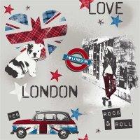 What´s Up Jugendzimmer Vliestapeten Design London