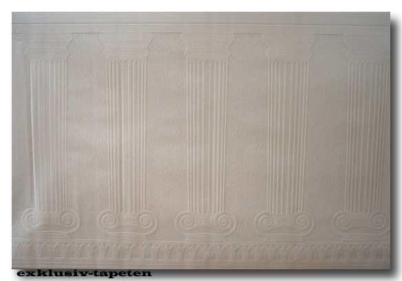 Tapeten Barock Sockelfries Pro Vlies 25x1,06 m Pilaster
