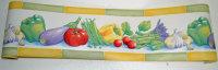 Bordüre Küche Kochen Gemüse