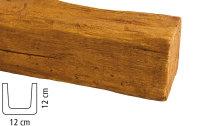 Balken Polyurethan - Eiche hell - 2 m lang 12 x 12 cm