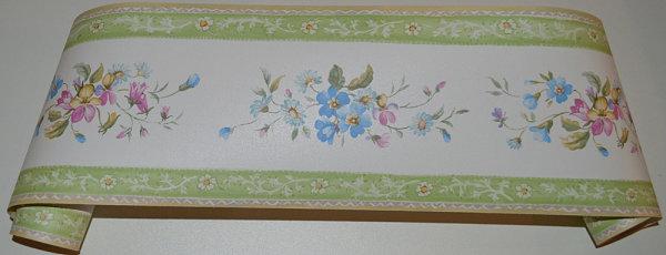Bordüre Norwall Blumen Floral