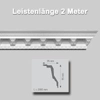 Zierprofile extrudiert Polystyrol 95 x 95 mm