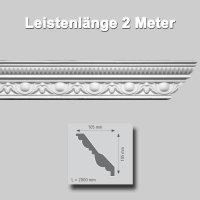 Zierprofile extrudiert Polystyrol 100 x 100 mm