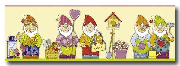 Borte Kinderzimmer sweet little world Zwerge