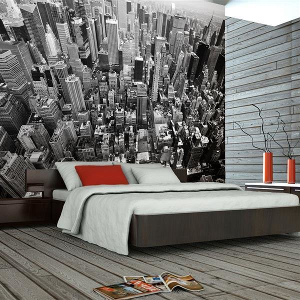 fototapete usa new york schwarzweiss. Black Bedroom Furniture Sets. Home Design Ideas