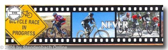 Borte selbstklebend Digitaldruck Bicycle Race BMX Rad