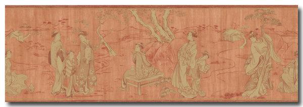 Bordüre Bonsai Hermitage Asia