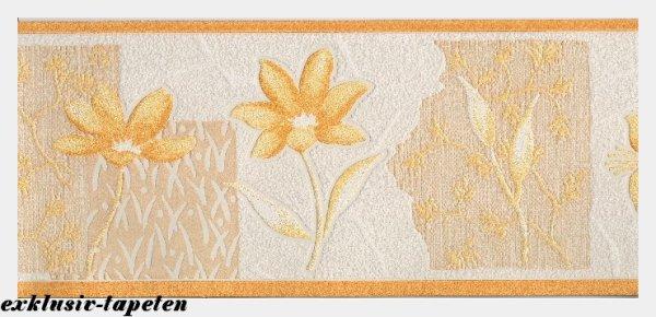 Bordüre Tapetenborten Flower Floral Blumen