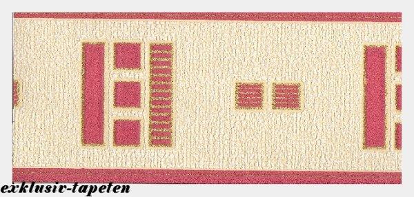 Bordüre Tapetenborten Grafik Retro Design 10 Meter