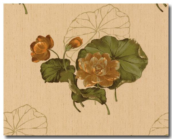 Tapeten floral Delft II