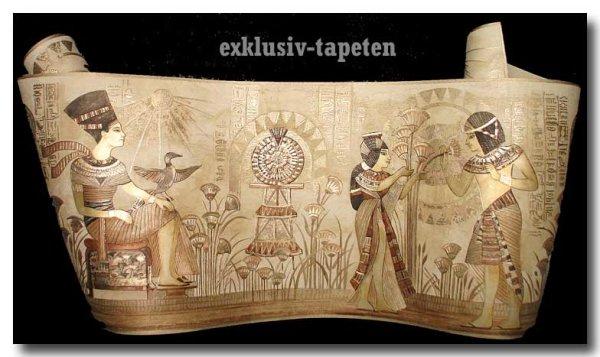 Satin Borte günstig Palazzo Ägypten Pharaon