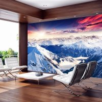 150x105 cm Fototapete Magnificent Alps