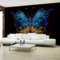 150x105 cm Fototapete Wings of Fantasy