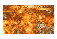 500x280 cm XXL Tapete  Flames of the Past