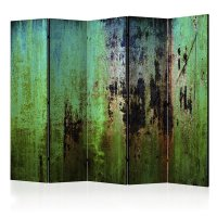 225x172 cm 5 - teiliges Paravent Emerald Mystery II