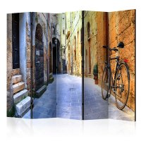 225x172 cm 5 - teiliges Paravent Italy Holidays II