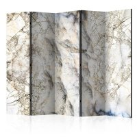 225x172 cm 5 - teiliges Paravent Marble Mystery II