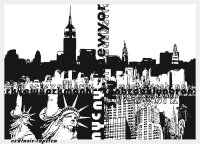 XXL wallpaper City Nex York 5 x 3,33 Meter (150g Vlies)