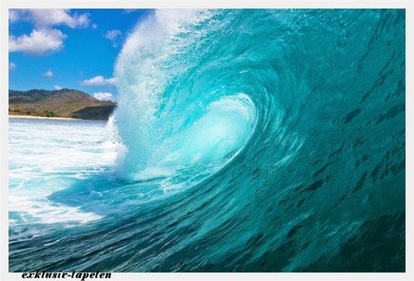 XXL wallpaper Wave 5 x 3,33 Meter (150g Vlies)